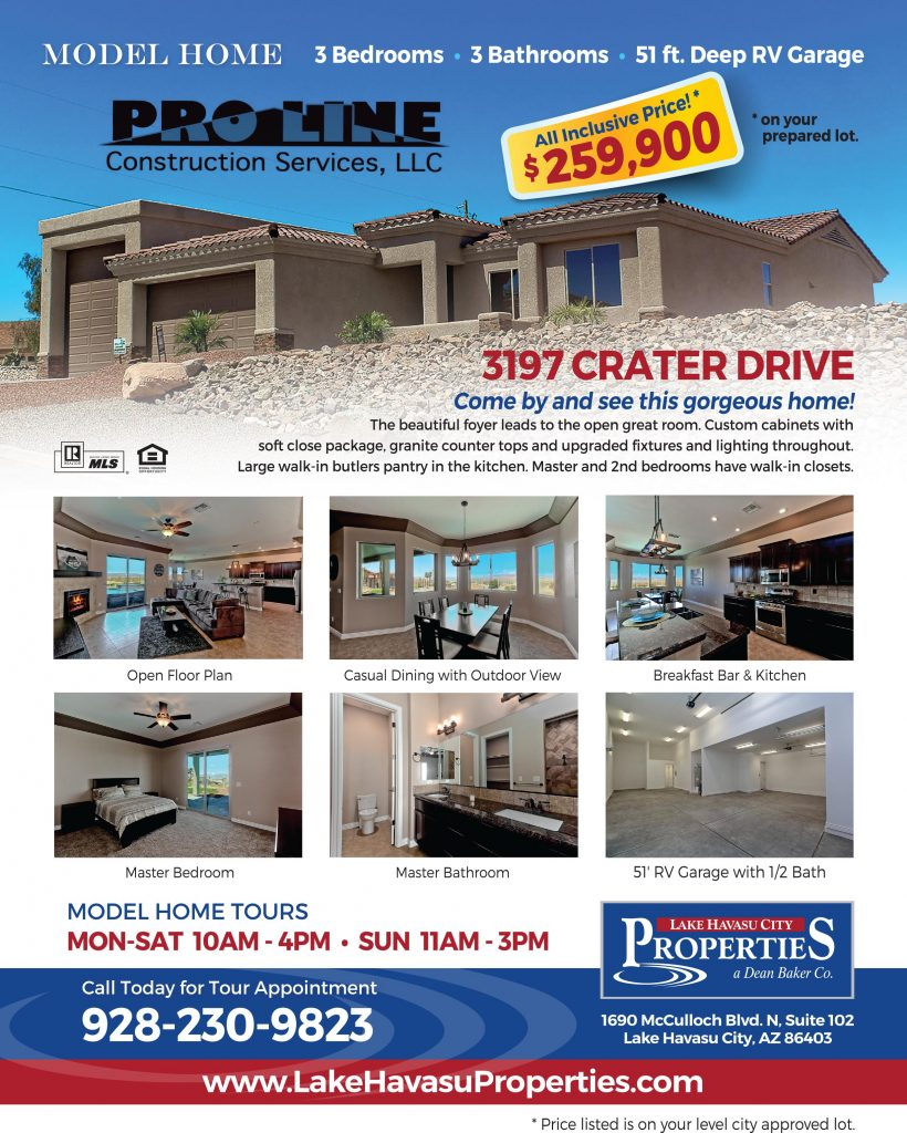 Lake Havasu Home Builder: Lake Havasu New Construction